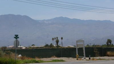 This Desert Sun file photo shows the area of Avenue 48 and Van Buren Street in Coachella. A city official wants to speed up an improvement project in the area following the deaths of two pedestrians who were hit by a vehicle.