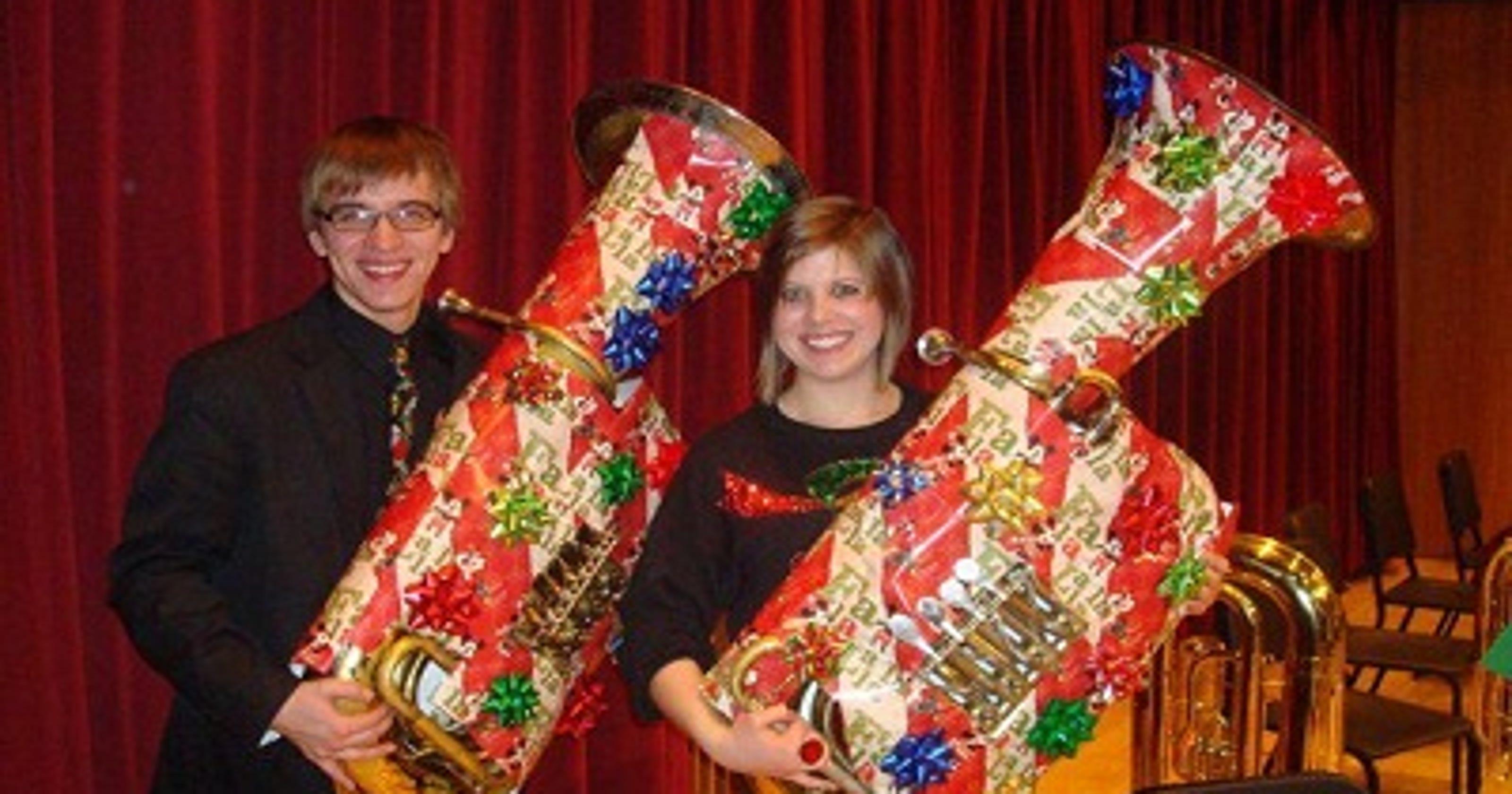 Tuba Christmas.Uw Stevens Point To Host Tuba Christmas