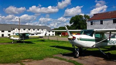 Rep. Leonard Lance is asking the Secret Service to modify its flight restrictions at two airports, Solberg Airport in Readington (pictured) and Somerset Airport in Bedminster, when President Donald Trump is having a weekend visit at his golf club in Bedminster.