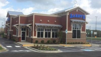 File photo of a Zaxby's in Tennessee