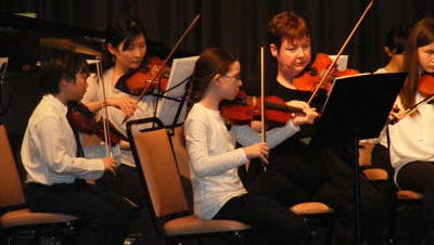 Northville Strings Students during a 2013 performance.