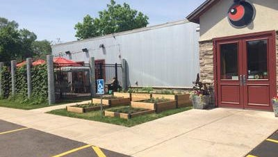 Red Eye Brewing Co. serves up craft brews in a biking-themed environment.