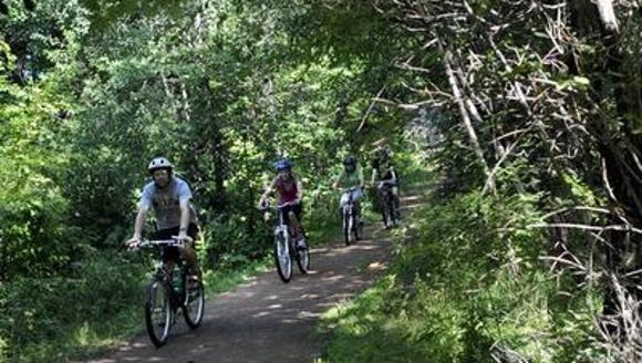 The Green Circle Trail in Stevens Point is a spectacular