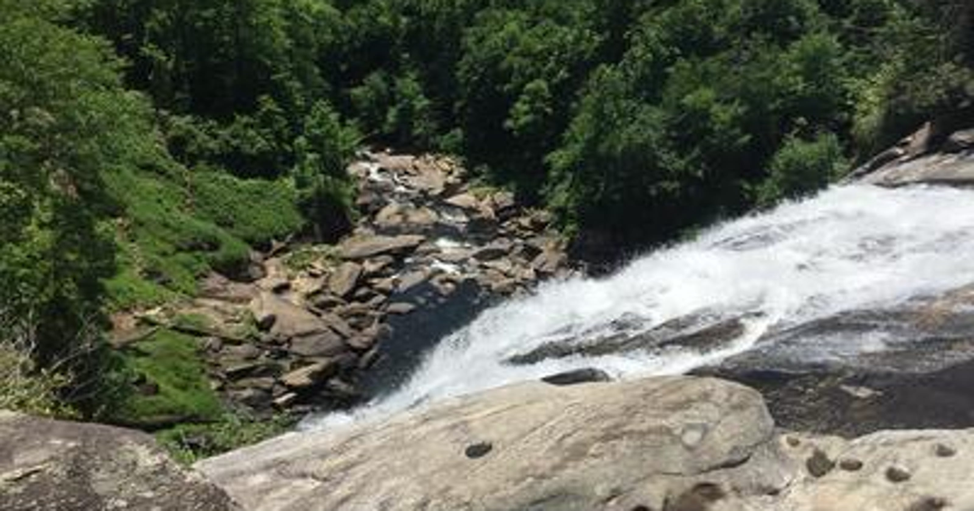 Man died trying to save dog at Rainbow Falls in Transylvania County