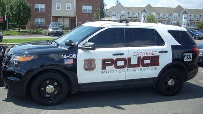 A dashcam video has been released showing a violent encounter between a Carteret police officer and a 16-year-old boy.