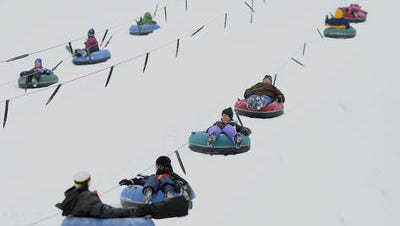 Powers Bluff Park, 6990 Bluff Drive, Arpin,offers tubing, downhill skiing and snowboarding from 10 a.m. to 4 p.m. Saturdays and Sundays, as conditions allow. The winter recreation area will open for the season on Jan. 30.