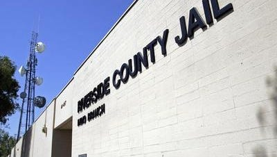 An inmate from the Riverside County Jail in Indio was rushed to a hospital following a medical emergency Wednesday. He later died.