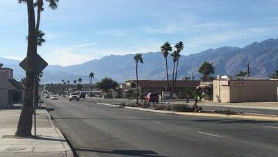 This Desert Sun file photo shows Palm Drive in Desert Hot Springs. City leaders decided to designate a southern portion of the road as a Safety Enhancement Zone, which increases traffic fines for violators.