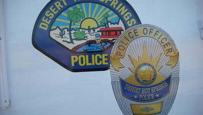 Desert Hot Springs police are investigating a shooting that injured two people Sunday.