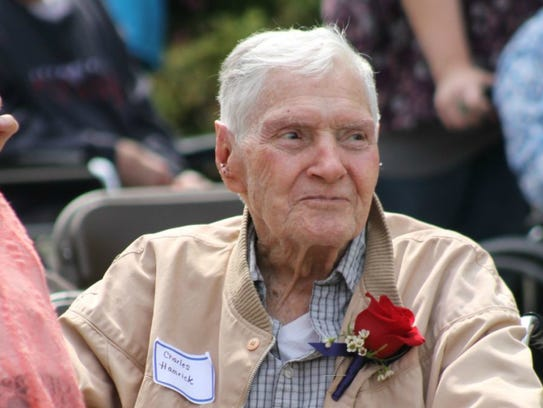 Charles Hamrick is a World War II Veteran and Army