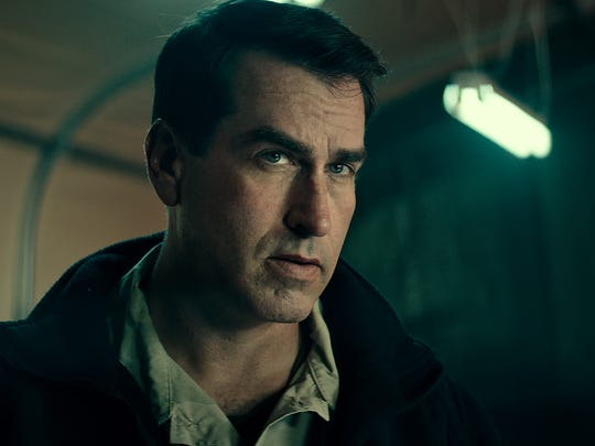 "Rob Riggle stars in ""12 Strong."""