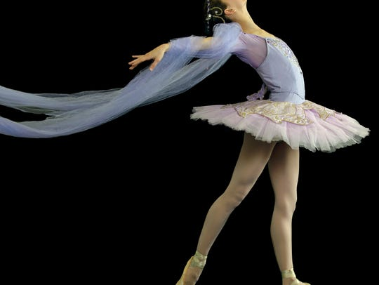 A dancer with the Pas de Vie ballet company.  A recent