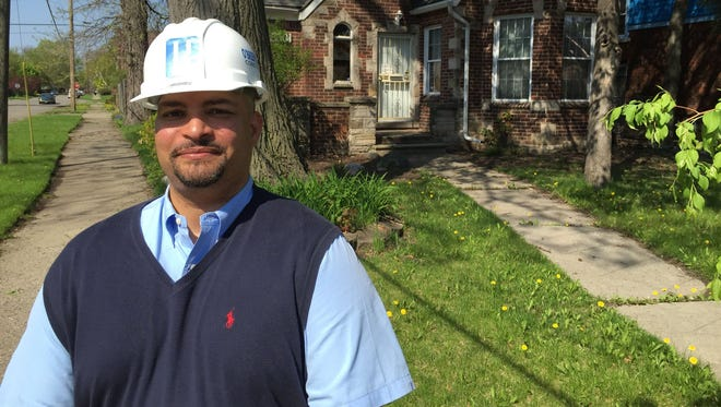 Steven Harris, 46, of Detroit is the chief operating officer for a Detroit-based construction company.