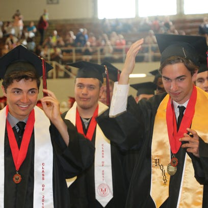 The Marion Harding Class of 2017.