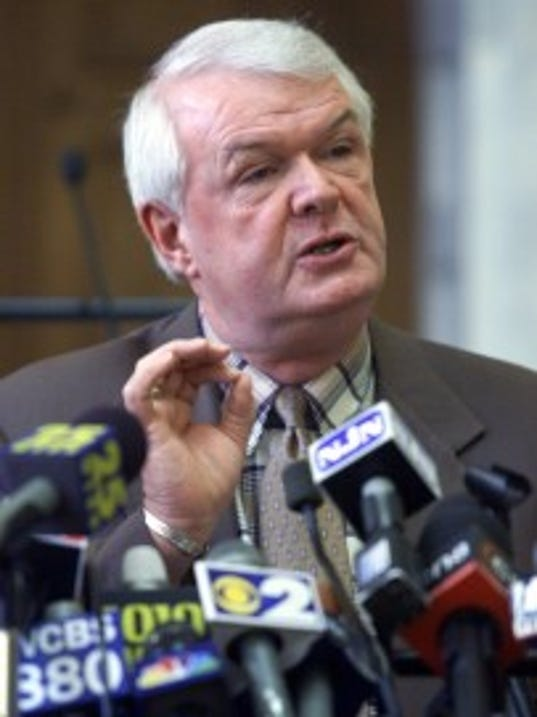 A 2001 Asbury Park Press file photo of former Assembly Speaker Jack Collins.