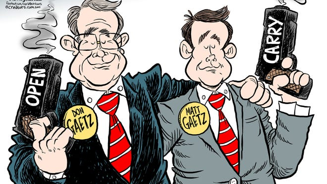 Cartoon by Andy Marlette