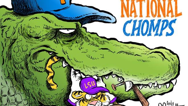 NCAA champs: Florida baseball