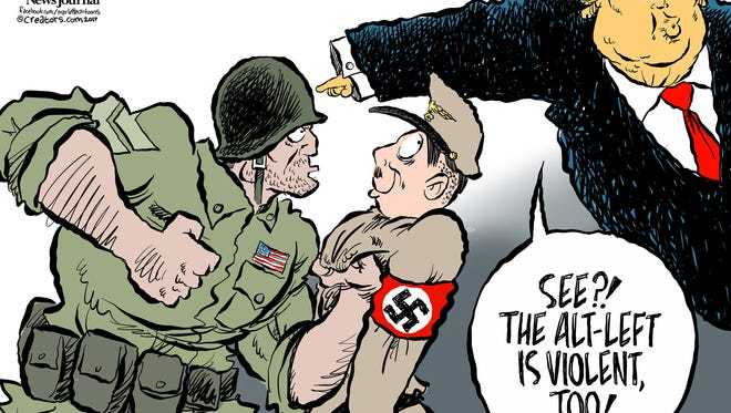 Cartoon by Andy Marlette.
