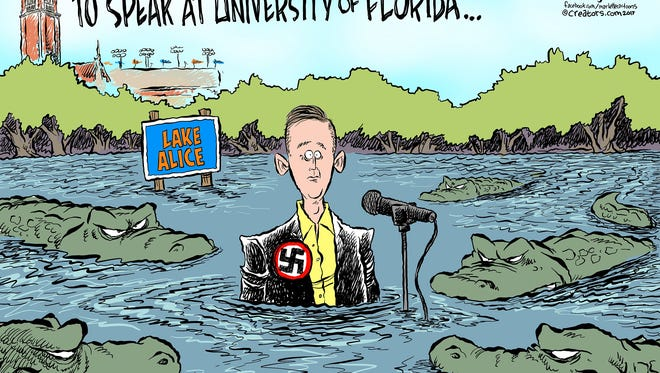 Spencer visit to University of Florida.