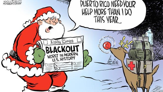 Helping Puerto Rico.