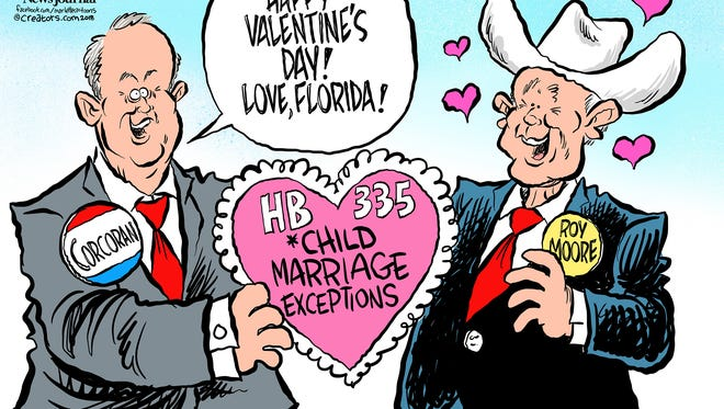 House Speaker Richard Corcoran is supporting law that would continue allowing child marriage in Florida.