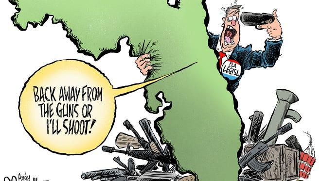 Guns and the Florida Legislature.