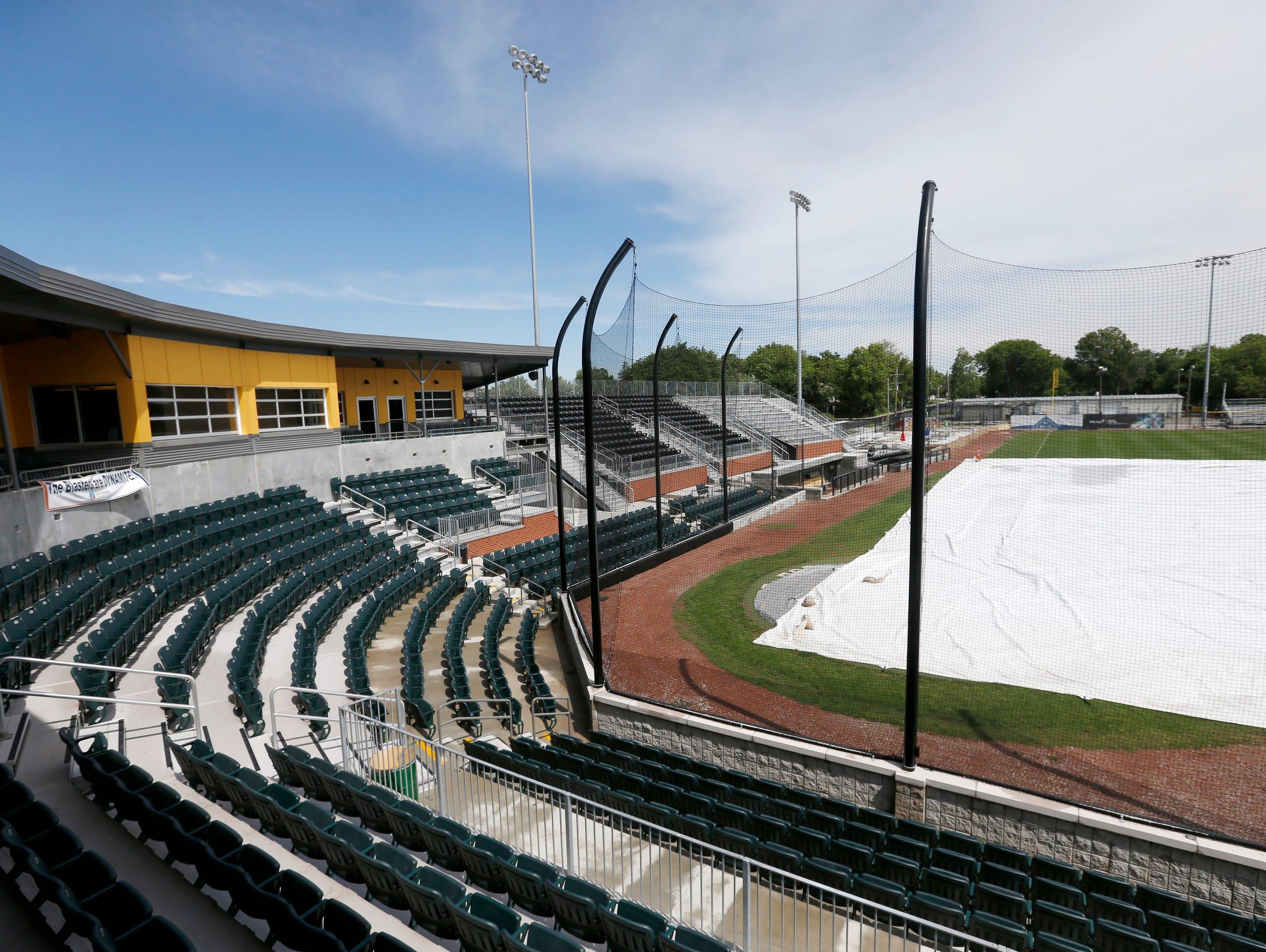 Joe Becker Stadium in Joplin, Mo.