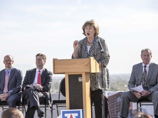 University of Arizona President Ann Weaver Hart has