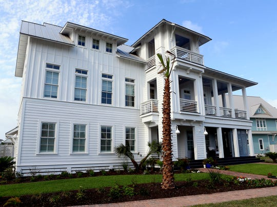 Unveiling of the Texas Monthly Gulf Coast Show Home at Cinnamon Shore on Thursday, May 18, 2017, in Port Aransas.