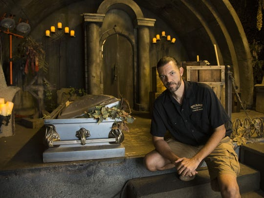 Jacob Redwood is general manager of the 13th Floor Haunted House in Phoenix.