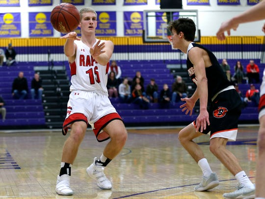 Zach Langemeier has been a member of the Wisconsin Rapids varsity basketball team since his sophomore year. Now he has settled into a leadership role as a senior for the Raiders.