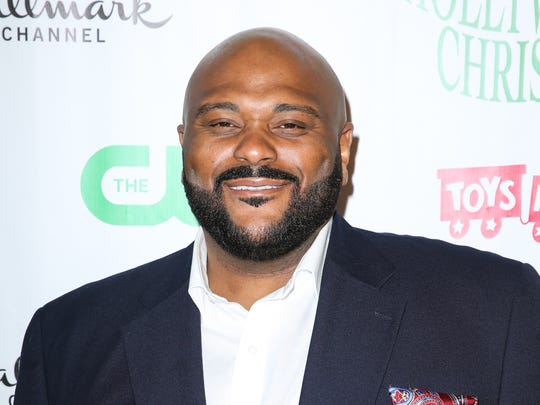 Ruben Studdard arrives at the 84th Annual Hollywood