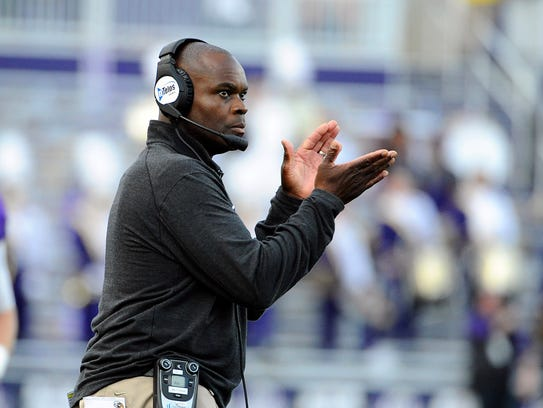 Former James Madison Dukes head coach Everett Withers
