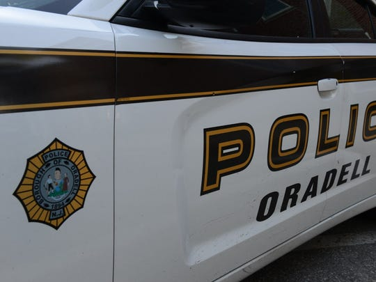 Oradell Police Department vehicle