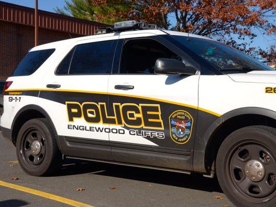 An Englewood Cliffs police car.