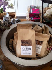 Homemade granola is offered at G.E. Brown, a gourmet market in Bedford.