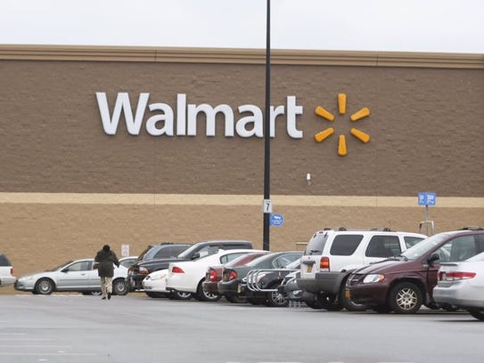 The Walmart on Hudson Avenue in Rochester.