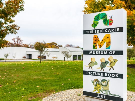 The Eric Carle Museum of Picture Book Art makes a fun