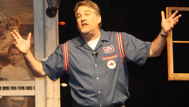 """Comedian Pat Hazell brings his one-man nostalgia show """"The Wonder Bread Years"""" to Southern Door Community Auditorium on Nov. 25."""