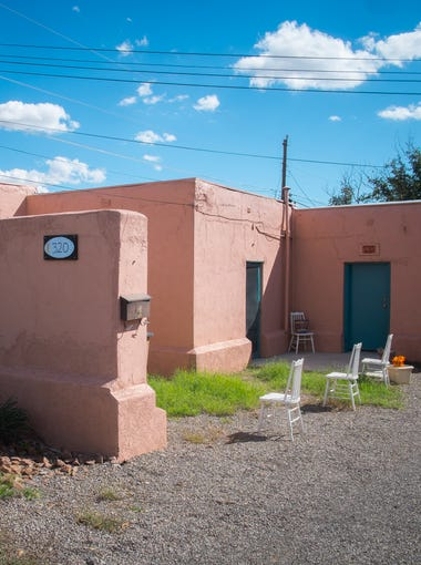A dozen properties in the Mesquite Historic District were honored on Friday by Las Esperanzas, a grassroots, nonprofit organization founded to preserve and revitalize the district. Built in the late 1800's the Barrio House is currently being restored by descendants of the original Barrio family.