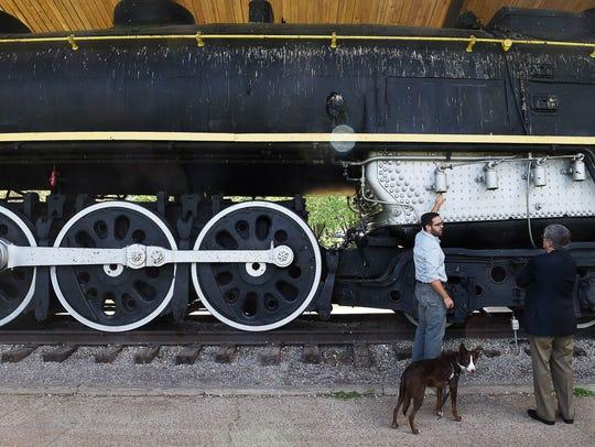 Nashville Steam Preservation Society advisor Davidson