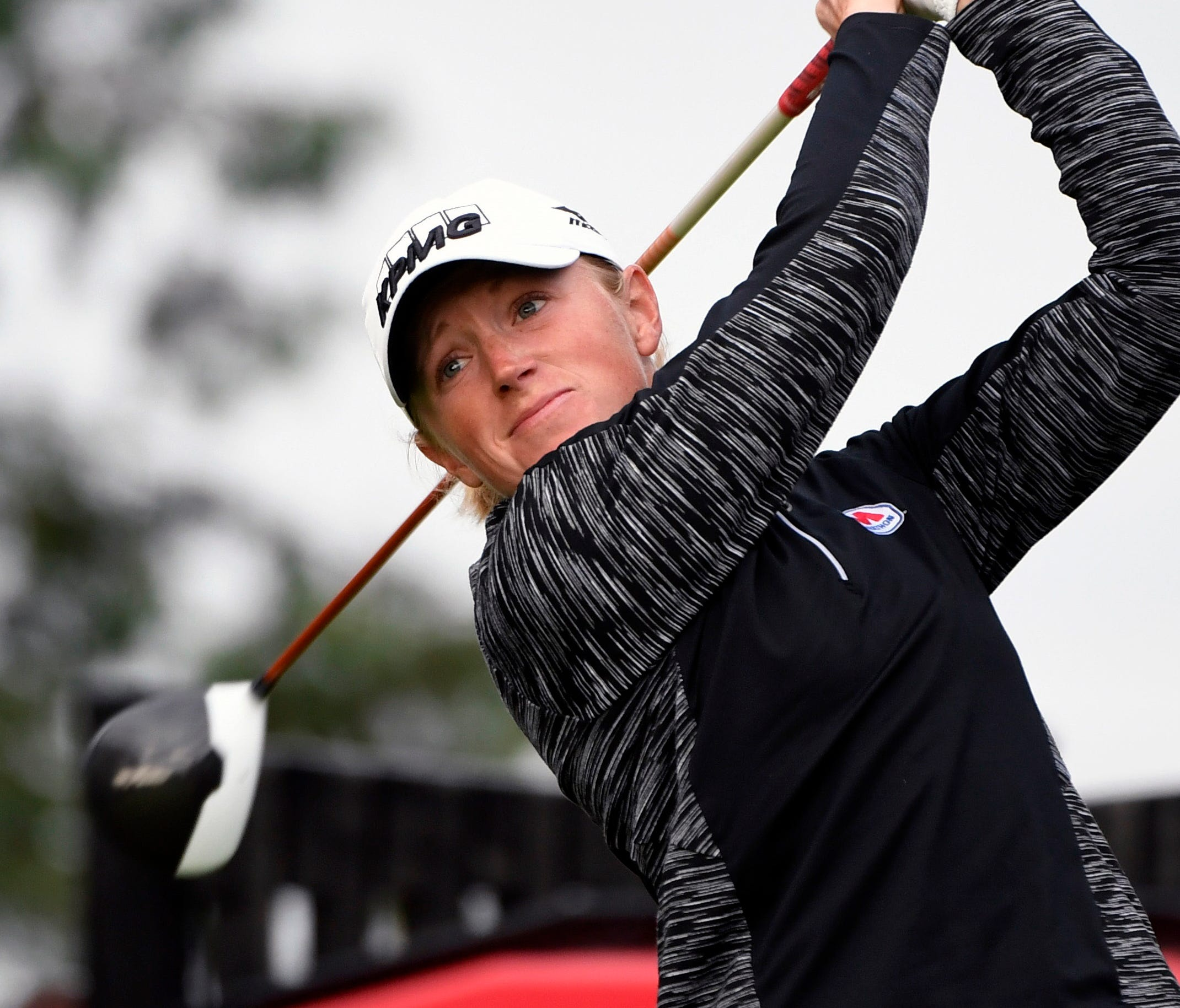 Stacy Lewis is a two-time major champion.