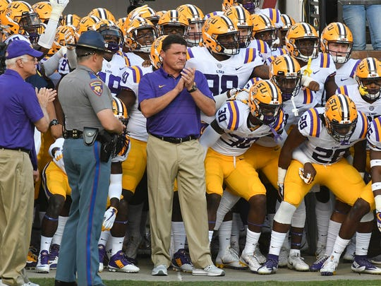 The last time Ed Orgeron brought LSU to Starkville, it was a good day for Mississippi State.