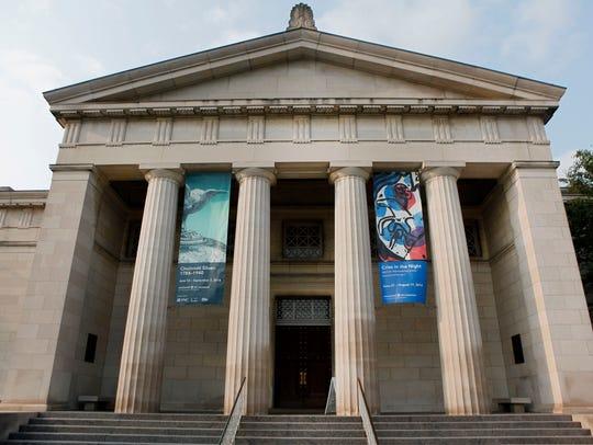 The Cincinnati Art Museum, in Mt. Adams.