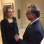 Gabby Giffords steps into New Mexico firearms debate