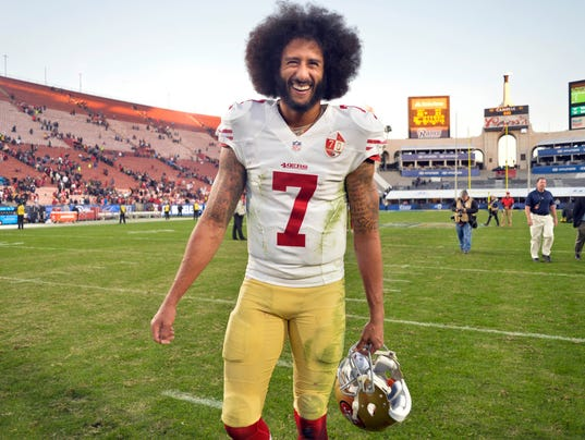 Colin Kaepernick named GQ Man of the Year