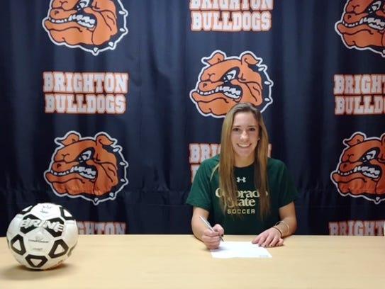 Emma Shinsky is continuing her soccer career at Colorado