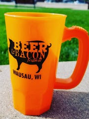 Beer & Bacon Fest was held in September 2016 at Fern Island. Each attendee received a mug for their beer samples.
