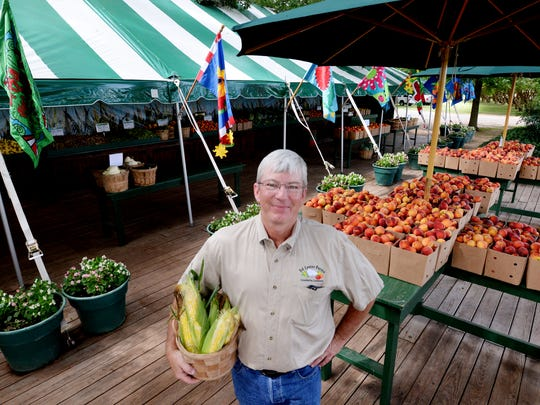 Ed Lester Farms market stand is open 8:00 to 5:00,