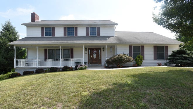 This traditional two-story house at 768 N. 32nd St., North Lebanon Township, features lots of living space. The house has four bedrooms, including a large master bedroom with a walk-in closet; oversized two-car garage; two bedrooms; two bathrooms; living room with fireplace; family room; dining room; and kitchen. The house lists for $225,000 and is in the Cornwall-Lebanon School District. It's multilisting number is 241203.